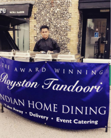 July 2016 - Catering for Ad Hoc Summer Soul event in Royston